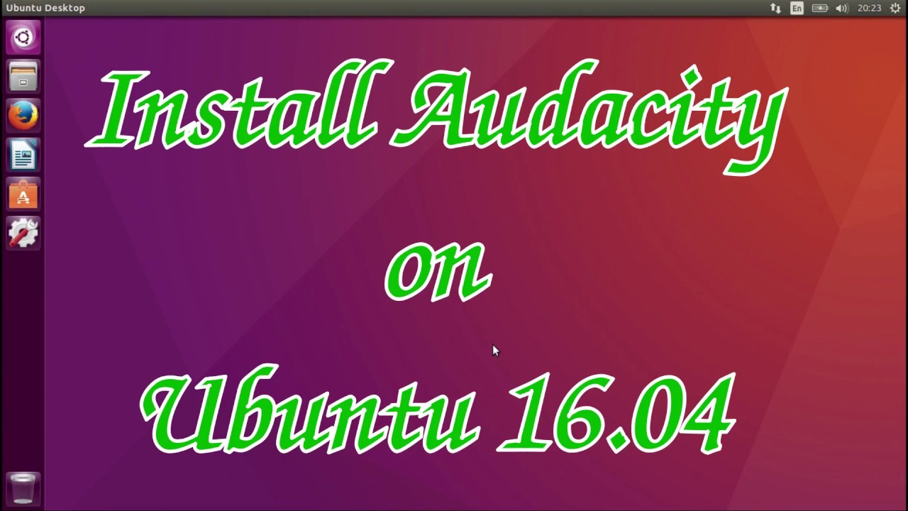 audacity free download for ubuntu