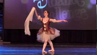 Katie Davis: Pointe solo, Raymonda variation, Pas de Chale, age 16