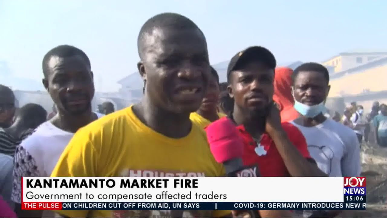 Download Kantamanto Market Fire: Government to meet stakeholders on plans to rebuild market (16-12-20)
