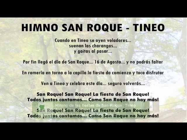 Himno San Roque Tineo