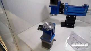 electric rotary actuator from omas mpg