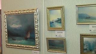 В Курском краеведческом музее открылась выставка репродукций Айвазовского