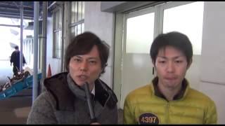 2014年2月6日住之江ボートで開催のGⅠ近畿地区選手権初日のピットで西村...
