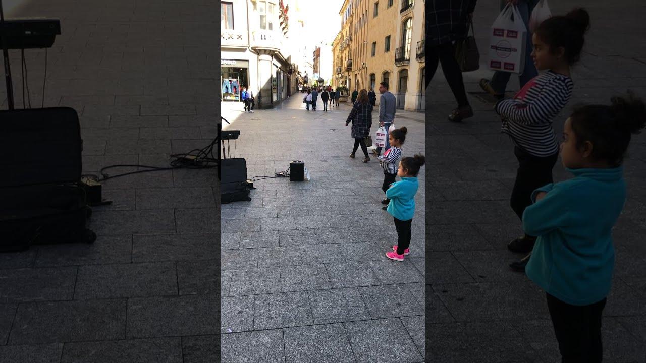 Cute little fans in Salamanca #shorts