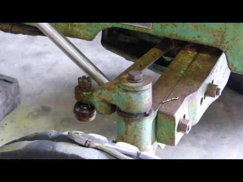 John Deere 2030 Front Axle Pivot Pins, Bushes and Bell Crank Repair