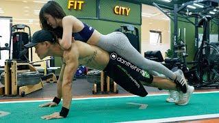Bài Tập Gym Dành Cho Cặp Đôi Gây Sốt Cộng Đồng Mạng