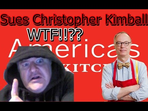 America's Test Kitchen SUES former star Christopher Kimball