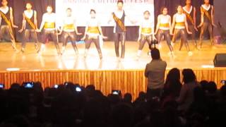 Crunk Dance Society of SAC at SPM college