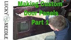 Automotive Upholstery - Making Custom Door Panels Part 1 - Patterns