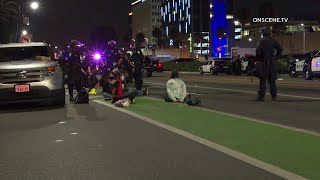 BLM Protesters Arrested After Assaulting Officer In Beverly Hills
