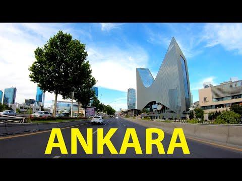 Driving Tour of Ankara,Turkey