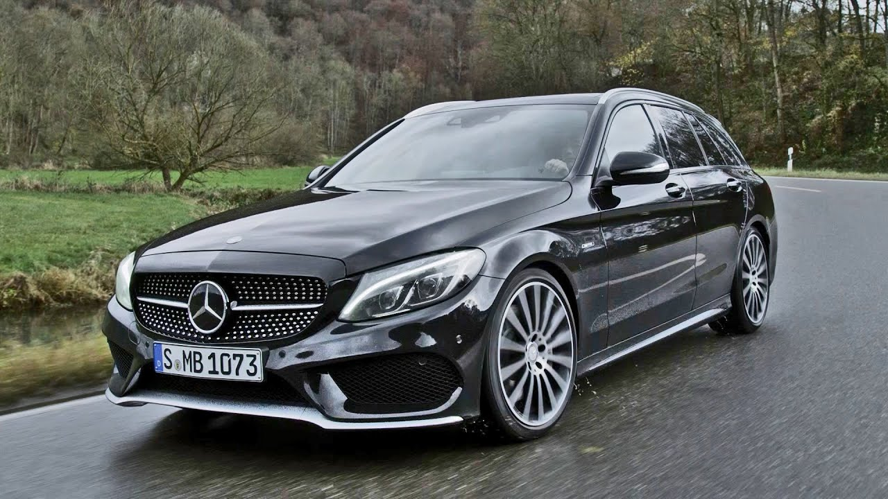 2015 mercedes c 450 amg estate youtube. Black Bedroom Furniture Sets. Home Design Ideas