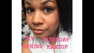 My Everyday Spring Makeup Routine Thumbnail