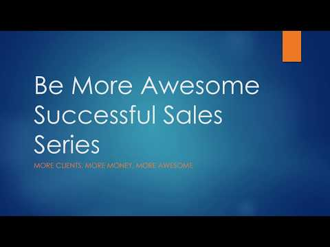 Successful Sales Strategies That Win Part 3 of 5