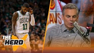 How Much Of A Mistake Did Kyrie Irving Make By Leaving LeBron James?   THE HERD