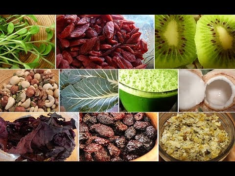 """What is a Raw Vegan Diet or """"High Raw"""" Diet?"""