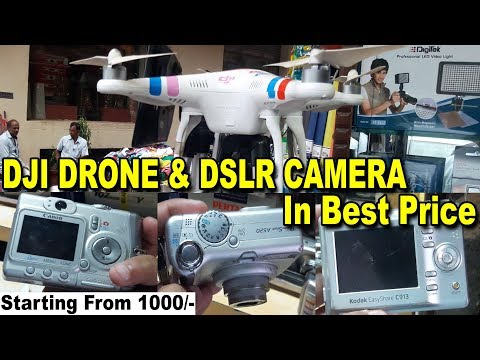 DSLR Camera Market | Explore Dji Drone, Go-Pro, SLR Cameras | Best Place For Buy Camera | Bora Bazar