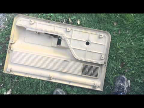 '73-'79 Ford Truck Door Panel Removal