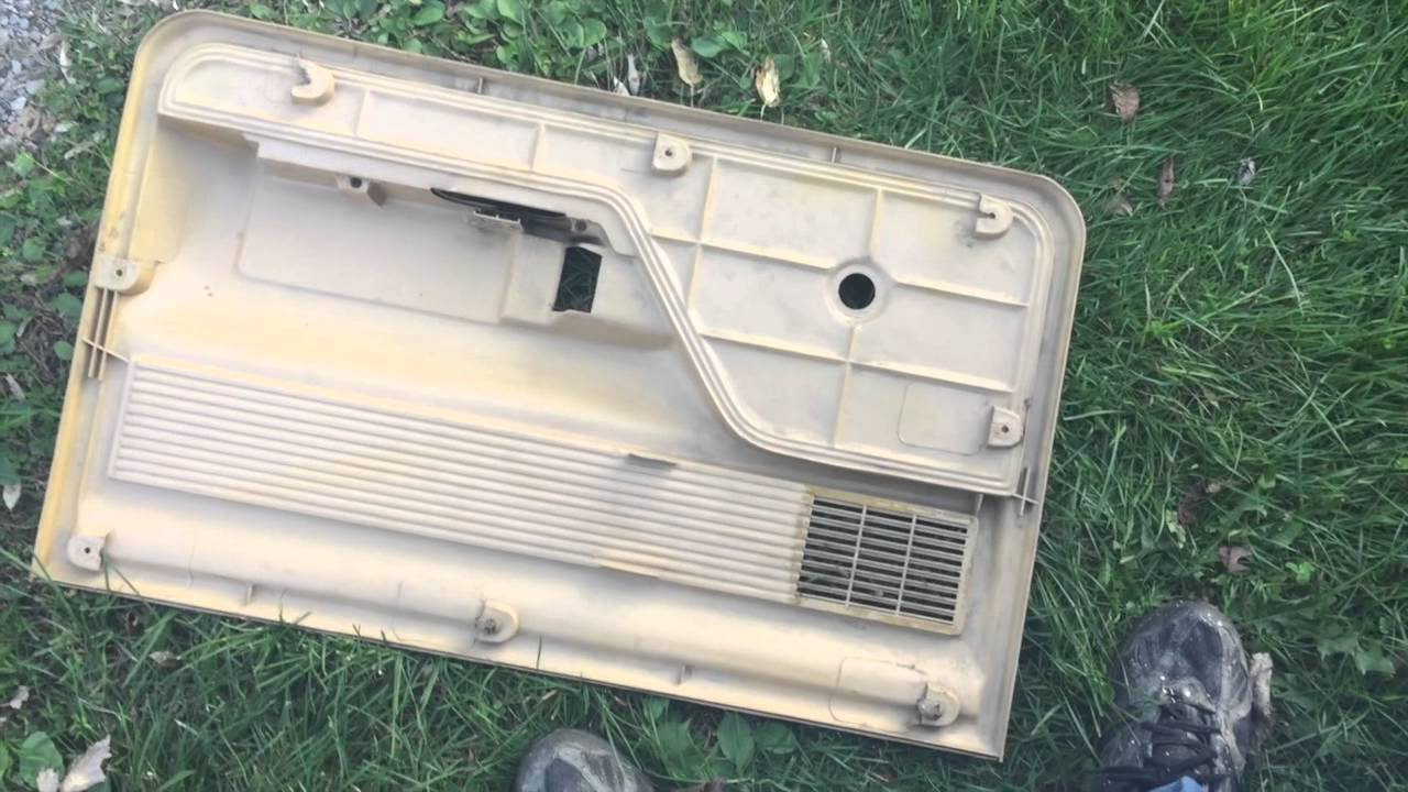 73 79 Ford Truck Door Panel Removal Youtube