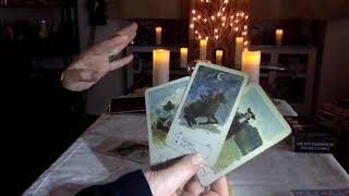 TAURUS January 2018 & LENORMAND Mini GT 2018 YEAR SPREAD by Christelle Martinette