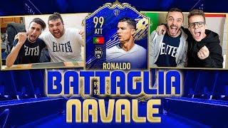 RONALDO 99! BATTAGLIA NAVALE con i TOTY con TATINO vs FIUS GAMER e ENRY LAZZA!