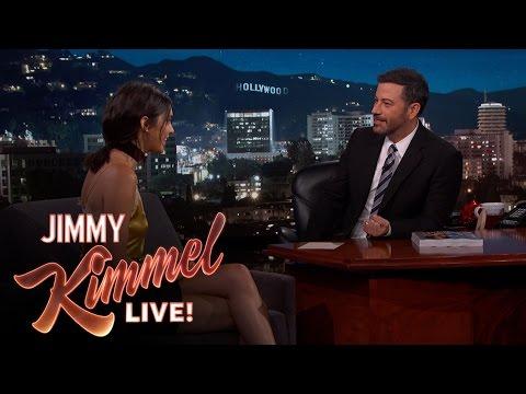 Jimmy Kimmel & Kendall Jenner on Being Neighbors