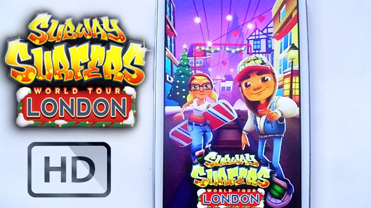 Subway Surfers London Gameplay Android Ios Unlimited Coins And