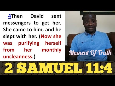 King David Slept With a Woman in *Menstruation* and killed Husband - Evangelist Addai