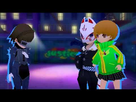 Persona Q2 New Cinema Labyrinth Ticket #5 Clash of the Thugs - YouTube