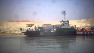 View Video: surprise second crossing to Sinai on the first day of Ramadan the new Suez Canal