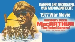 1977 MacArthur Theatrical Trailer Starring Gregory Peck