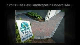 Paver Walkways in Harvard, MA - Scotts Tree & Landscape, Inc