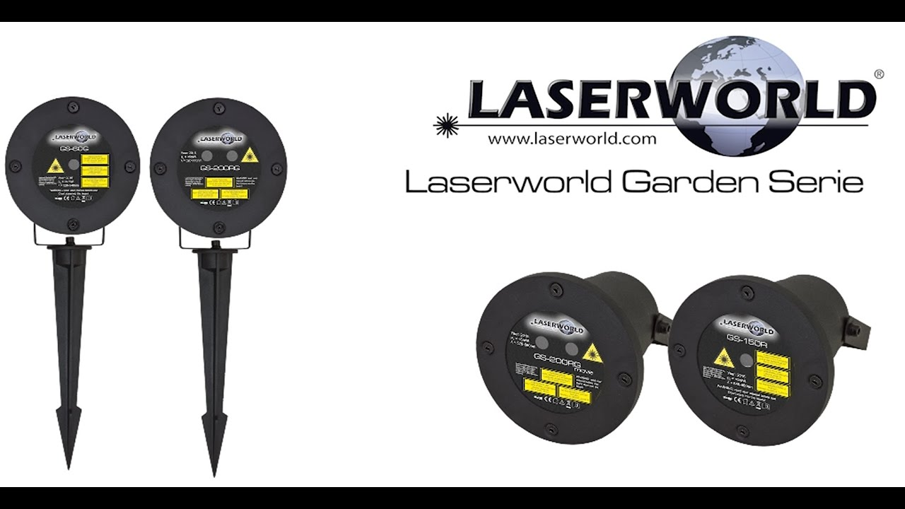 garten laser laserworld garden series laserworld youtube. Black Bedroom Furniture Sets. Home Design Ideas