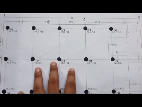 How To Read Pile Foundation Drawing Plan