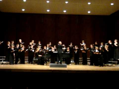 "UW Chamber Singers sing Giselle Wyers' ""The Waking"""