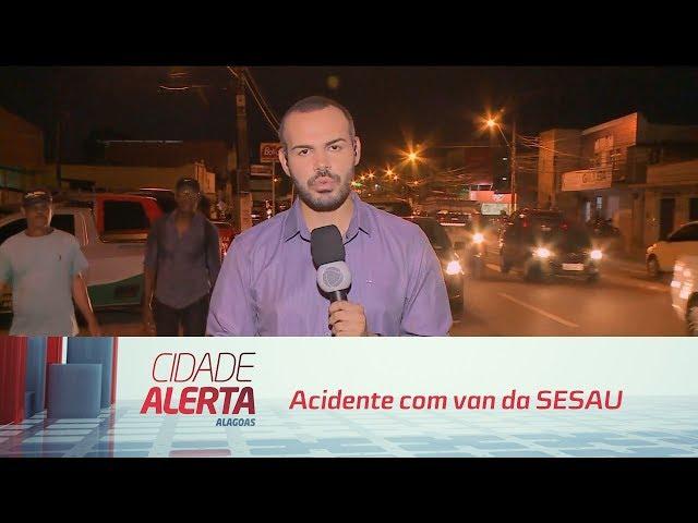 Acidente com van da SESAU: uma pessoa não resistiu aos ferimentos e morreu