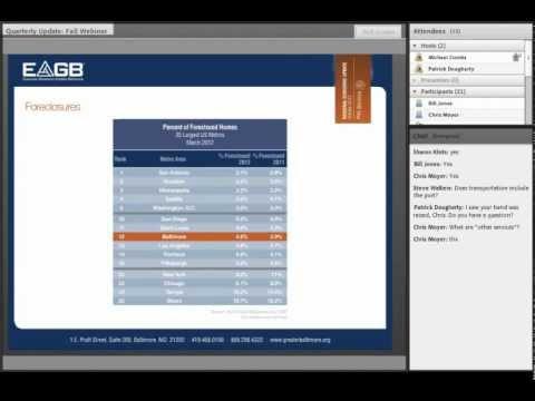 Quarterly Webinar: Economic Update (October 2012)