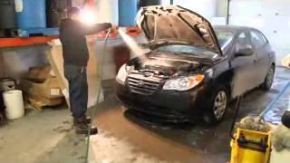 Shampoing moteur