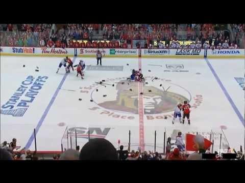 Bagarre Générale!! Canadiens De Montréal Contre Sénateurs D'Ottawa ( 5 Mai 2013 )