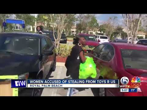 Women accused of stealing from Toys R Us in Royal Palm Beach