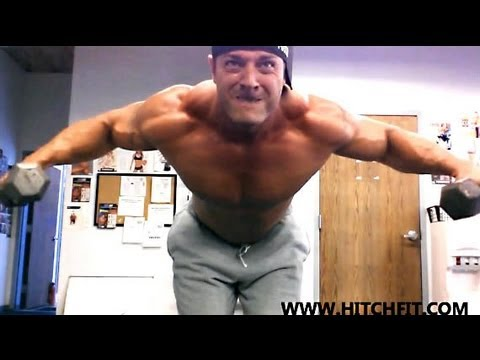 How to Build Bigger Traps Muscle Model Micah LaCerte - YouTube
