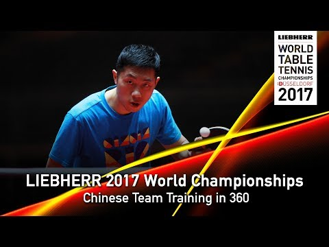 2017 World Champs l Chinese Team Training in 360