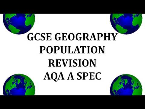 GCSE population revision AQA