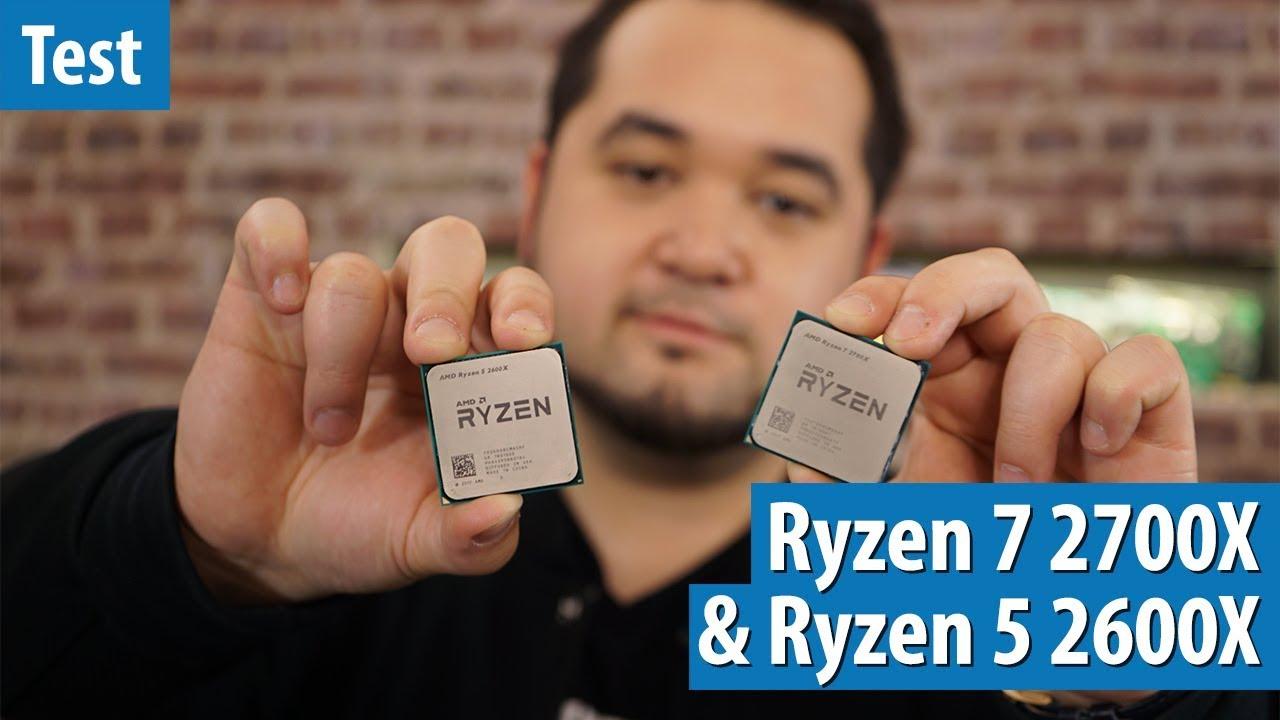 Die BESTE SPIELE-CPU? AMD Ryzen 7 2700X & Ryzen 5 2600X im Spiele- und Benchmark-Test | #Gaming-