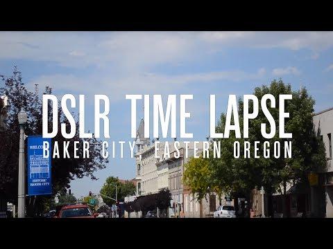 DSLR Time Lapse - Baker City, Oregon