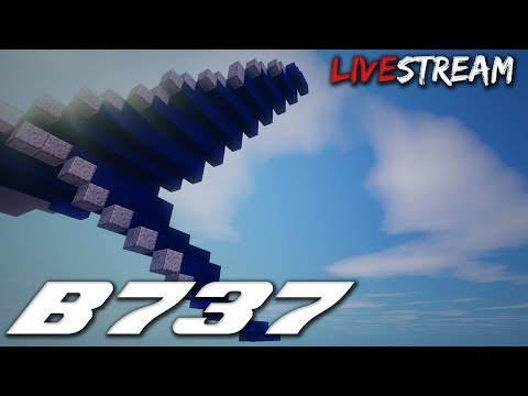 Live! Giant Boeing 737 Remake Live!
