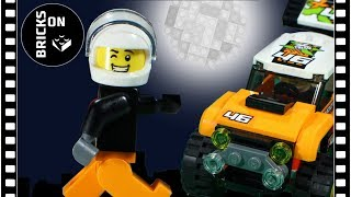 Brickfilm Lego Bricks Stunts Funny Video Stop Motion Animation Car Show-OFF! Record ruckus