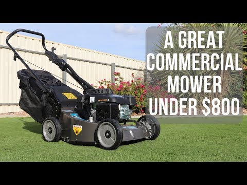 A Great Commercial Rotary Mower Under $800