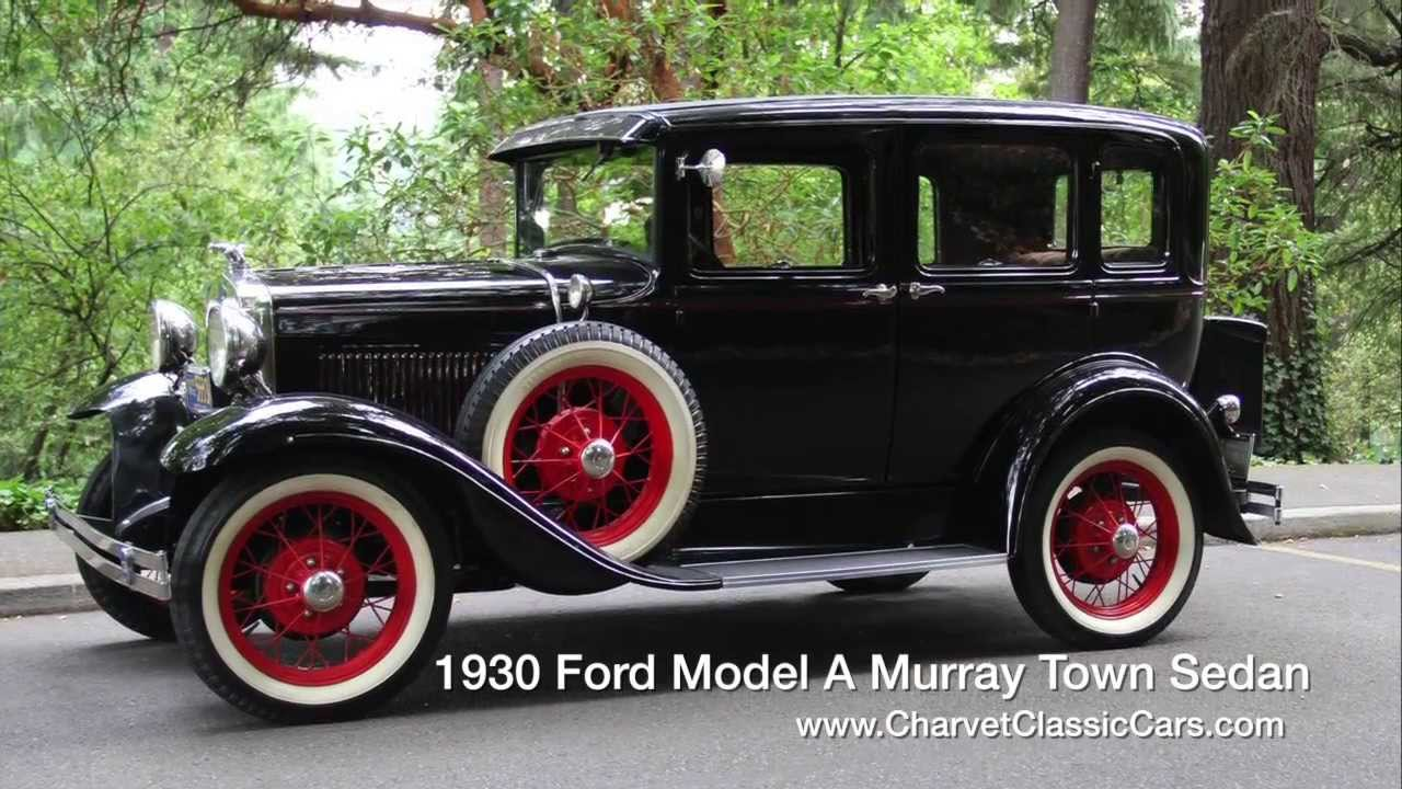 1930 ford model a murray town sedan youtube