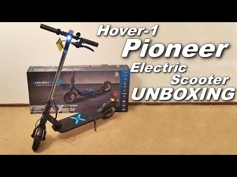UNBOXING THE HOVER-1 PIONEER ELECTRIC SCOOTER